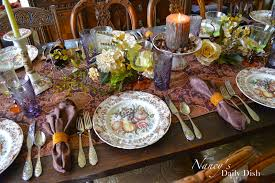 nancy s daily dish a melange of autumn thanksgiving transferware