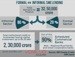 Formal Credit And Informal Credit impact of demonetisation on sme lending through formal and informal
