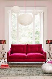 Pink Living Room Furniture 15 Dazzling And Chic Pink Sofa Ideas Rilane