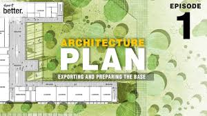 architecture plan in photoshop ep 1 exporting and preparing the