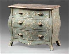 Bombay Chest Nightstand Brown Drop Lid Secretary Bombe Chest Home Decor Family Rm