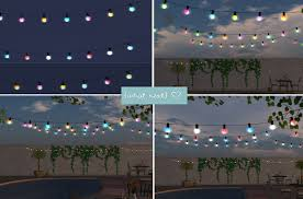 sims 3 holiday lights amalfi string lights for lazy sunday what next