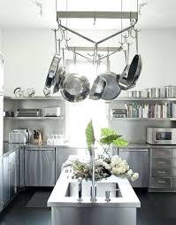 kitchen island hanging pot racks kitchen island with hanging pot rack altmine co