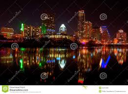 Austin Texas Christmas Lights by Downtown Austin Tx Fireworks Royalty Free Stock Images Image