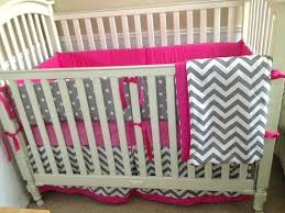 Gray And Pink Crib Bedding Pink And Grey Nursery Bedding Icedteafairy Club