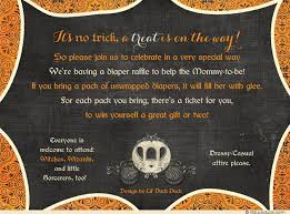 halloween baby shower invitations wblqual com