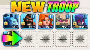 clash of clans all troops songs in clash of clans new troop confirmed supercell
