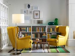 wingback chair yellow oversized chair used furniture recliner
