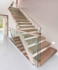 Glass Stair Banister Best 25 Glass Stair Balustrade Ideas On Pinterest