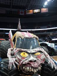 zombie monster jam truck zombie driven by ami houde monster jam triple threat ser u2026 flickr