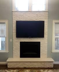 white stone fireplace finished nor stone fireplace with mounted white stone fireplace finished nor stone fireplace with mounted tv in lexington ma