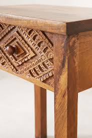 amira carved wood nightstand outfitters