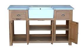 meuble d evier cuisine meuble sous evier de cuisine 4 portes en