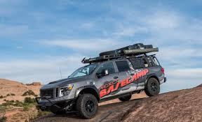 nissan titan camper nissan creates the ultimate off road camping rig autoguide com news