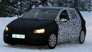 volkswagen winter 2013 volkswagen golf caught winter testing