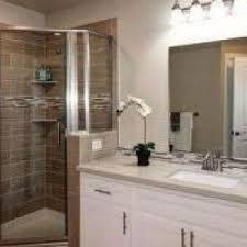 Seattle Bathroom Vanity by Seattle Bathroom Vanity With Tropical His And Hers Bath Nickel
