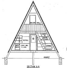 small a frame house plans a frame house plan with deck