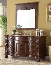 hopkinton bathroom sink vanity w mirror gd 4437bn 60mir