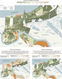 Maps New Orleans by Population Decline In New Orleans Interactive Feature Nytimes Com