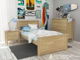 bedroom king single beds king single bed frames natural kids