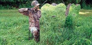 Bow Hunting From Ground Blind Ground Blinds Provide Great Cover For Deer Hunting Grand View