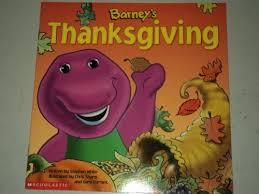 barney s thanksgiving scholastic inc 0045986979278