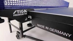 stiga eurotek table tennis table premium compact table tennis table youtube