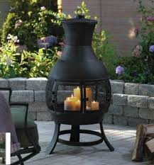 Outdoor Fireplace Canada - for living aurora chiminea canadian tire