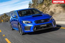 subaru impreza wrx 2017 2018 subaru wrx sti australian pricing announced motor