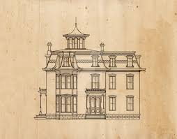 blueprint front of house by bluehecate on deviantart