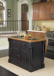 black kitchen island with stainless steel top kitchen carts kitchen island white butcher block wooden carts