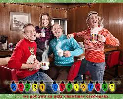 cheesy family christmas cards u2013 happy holidays
