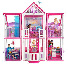 Barbie Dolls House Furniture Amazon Com Barbie Malibu Dreamhouse Toys U0026 Games