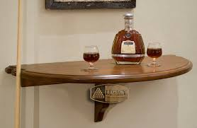 Wall Bar Table Legacy Heritage Wall Shelf 175 00 Hallmark Billiards