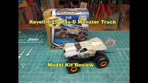 revell 1 25 max monster truck model kit review build 85 1989