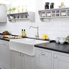 brilliant white undermount farmhouse sink undermount white kitchen