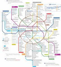 Moscow Map Map Of Moscow Metro Underground Subway Tube Stations In English
