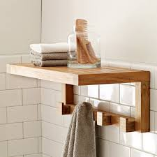 Wooden Shelves For Bathroom Bathroom Shelf Design Ideas Civilfloor