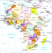 Africa Map With Capitals by Download Map Of Europe And Africa With Countries Major Tourist