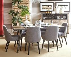 Retro Dining Room Furniture Gray Dining Table And Chairs Smc