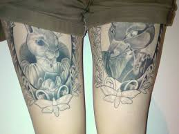 cat with a hat frame tattoo tattoomagz
