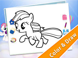 pony coloring for toddlers android apps on google play