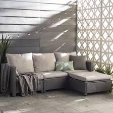 Contemporary Outdoor Sofa Modern Outdoor Furniture Decor Allmodern