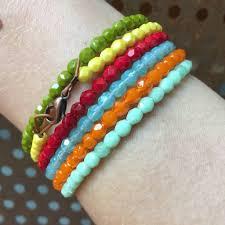 bracelet beaded images Color therapy beaded bracelets by ceci cela mindfulnest jpg