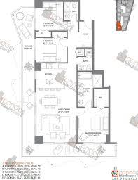 sls hotel u0026 residences unit 4606 condo for rent in brickell