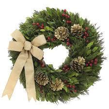 pine cone wreath golden pine cone wreath kremp