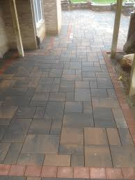 24x24 Patio Pavers by Unilock Brick Paver Brussels Beacon Hill Desert Sand 2013