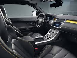 land rover interior land rover range rover evoque coupe sicilian yellow interior car