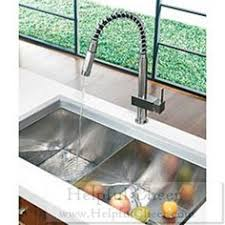 Vigo Stainless Steel Pull Out Kitchen Faucet Have To Have It Vigo Single Handle Pull Out Kitchen Faucet