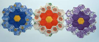 grandmother u0027s flower garden star quilt a long u2013 q is for quilter